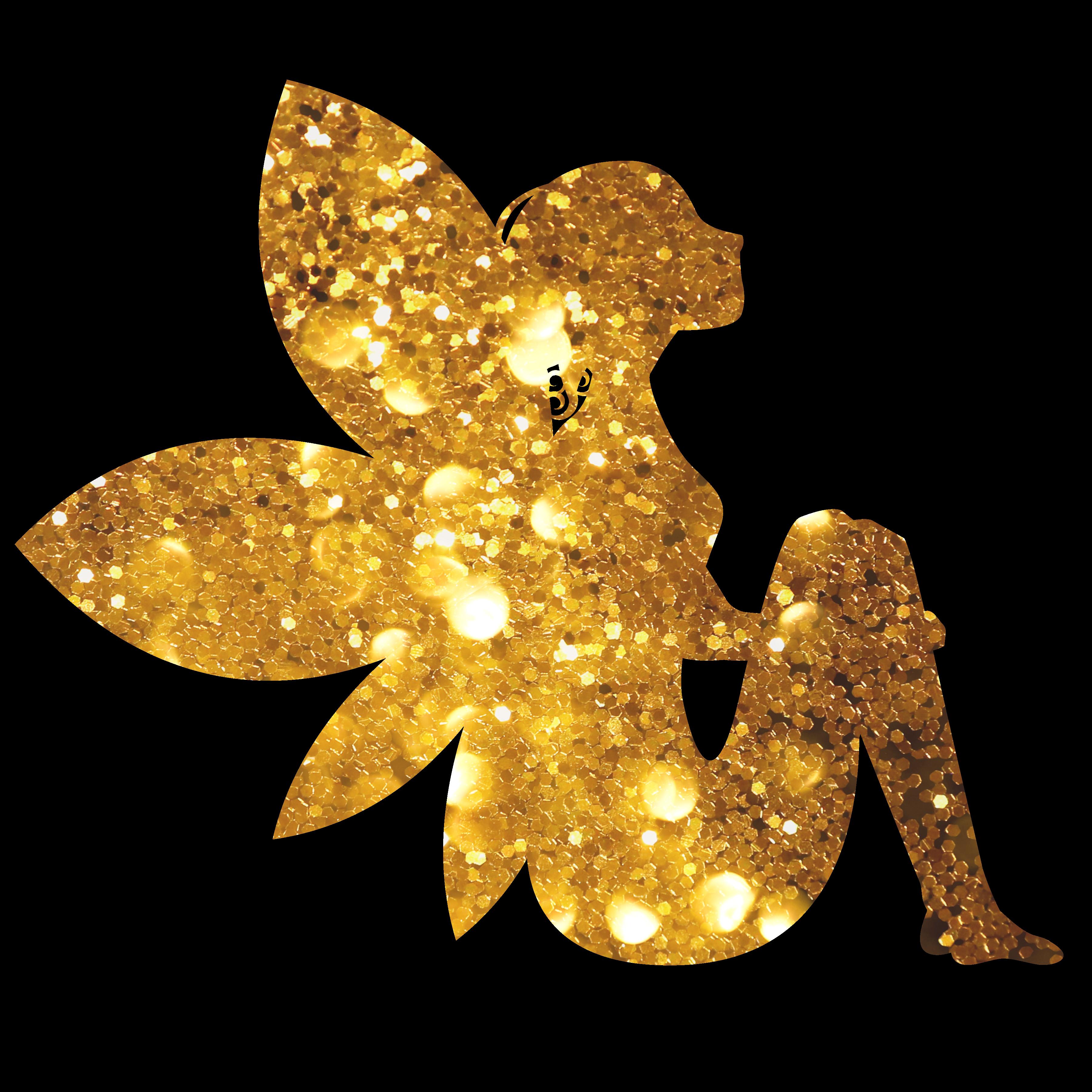 Goldene Fee Elfe