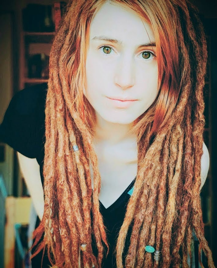 ginger dreadlocks